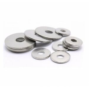 A4 Stainless steel penny repair timber mudguard washer M3 M4 M5 M6 M8 M10 M12