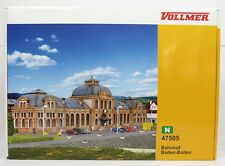 BNIB N GAUGE VOLLMER 47505 BADEN BADEN LARGE STATION KIT