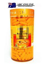 Golden Health Royal Jelly 1600mg 365 capsules 6% 10-HDA Australia 1600 100%