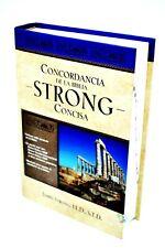 Concordancia de la Biblia Strong Concisa, James Strong, tapa dura