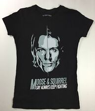 Supernatural Jared Padaleki's AKF Campaign Shirt Size Women's Extra Small Black