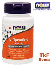 NOW FOODS L-Tyrosine 500 mg 60 Capsule  - VITAMINE