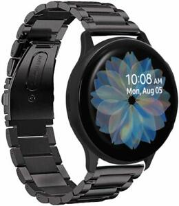 For Samsung Galaxy Watch Active2 40/44mm Strap Stainless Steel Watch Band