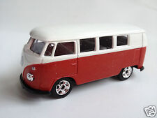 Dickie Diecast Volkswagen 1962 Microbus - red/white