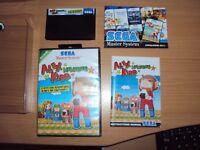 Alex Kidd Memories SEGA Master System Complet FR