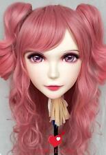 (Mei)Female Sweet Resin Half Head Kigurumi Cosplay Anime Role Crossdress Mask