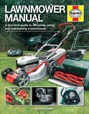 Lawnmower Manual (Haynes Manuals) by Brian Radam   Hardcover Book   978085733308