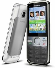 NEW CONDITION NOKIA C5-00 GREY UNLOCKED EASY MOBILE PHONE BLUETOOTH 5MP CAMERA