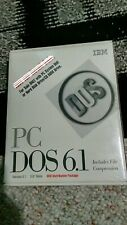 IBM PC DOS 6.1 Software Operating System Vintage 3.5'' disk in box 1993