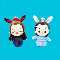The Untamed Wei Wuxian Lan Wangji 王一博 Plush Doll Stuffed Toys Mo Dao Zu Shi Gift