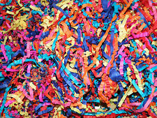 Shredded Paper (250g) Assorted Colours. Arts & Crafts. CRINKLY