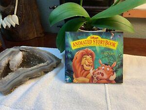 Disney Animated Storybook The Lion King CD ROM Windows