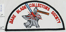 DARE BLADE COLLECTORS SOCIETY ANVIL HAMMER BLACKSMITH FORGE SOUVENIR PATCH