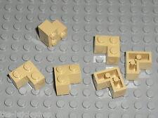 Brique d'angle TAN Brick 2 x 2 Corner 2357 LEGO / Set 7194 71006 9516 7571 4842