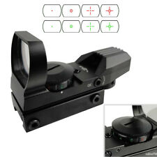 Holographic 4 Type Reticle Red Green Dot Sight w/ Picatinny Weaver 20mm Rail 心