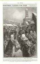 1919 Russian Peasants Bartering Food For Clothes Interview With The Kaiser