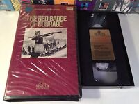 The Red Badge Of Courage Rare Literary War Drama VHS 1951 OOP HTF Stephen Crane