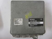Genuine bmw e36 318tds unité de commande moteur bosch 2245541 écus 0281001243 # 68