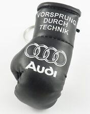 Audi mini Boxing glove Keyring
