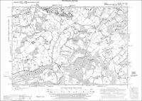 Old Bolingbroke Asgarby 1906 Hameringham old map Lincolnshire 82NW repro E