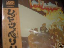 LED ZEPPELIN II ORIGINAL 2003 JAPAN Replica GATEFOLD LIMITED RARE  OBI  in a CD