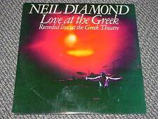 NEIL DIAMOND - LIVE @ THE GREEK - 77 (2) RCD SET G FOLD W/ ORG SLVS LP EX NM