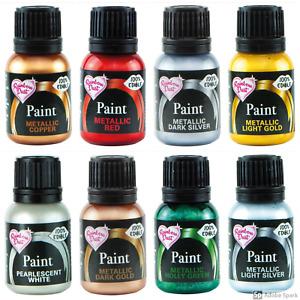 Rainbow Dust Edible Metallic / Pearl Food Paint Vegetarian & Alcohol Free