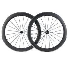 60mm Carbon Wheelset Alloy Brake Surface Road Bike Wheels Aluminum Brake Line