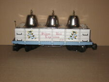 Lionel G Scale Lionel 8-81024 Silver Bell Express Gondola Car with Silver Bells