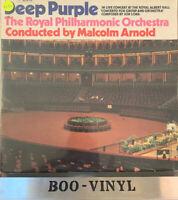 Vinyl 12 inch LP Record Album Deep Purple The Royal Philharmonic Orchestra 1970