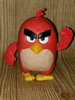 Angry Birds Big Red Bird Figure Plastic Spin Wing Burger King 4 inch Toy