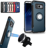 360° Rotate Magnetic Shockproof Stand Holder Case For Samsung Galaxy S7 / Edge