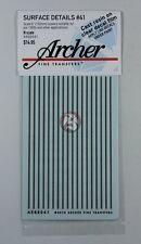 Archer Fine Transfers N-Scale (1/160) 6 inch wide Louvers AR88041