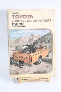 TOYOTA HILUX Pickup Service Manual 1968 1969 1970 1971 1973 1974 1975 1976 1977