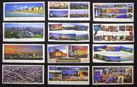 Melbourne Australia, Great Ocean Rd, Australian Animals, 12 x Pano Postcard.