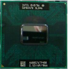 Intel Core 2 Duo T9400 2.53 GHz 1066MHz Dual-Core Processor Socket Mobile cpu f