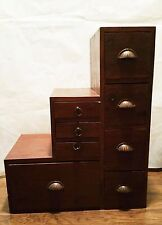 Japanese Tansu Kaidan Dansu  Staircase Chest and Storage Unit