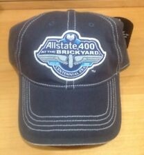 New! 2009 ALLSTATE 400 Nascar Racing Cap Hats (2 Total) Brickyard Free Shipping!