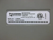 CANNON TECHNOLOGIES 50000C10G10 LCR5000 GEN 3 PAGER RECEIVER IN ALL WEATHER BOX