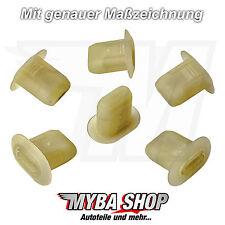 10x fijación clips para renault peugeot Fiat citroen Dacia | 699796 7703 081185