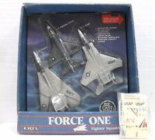 Force One Fighter Squadron - ERTL 1987 3 Aerei cm. 16-18,5-19 Die Cast Metal
