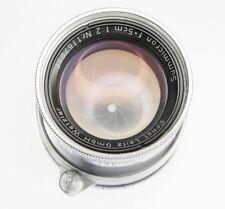 Leica SM 5cm f2 Coll. Summicron  #1167010