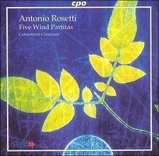 Antonio Rosetti: 5 Wind Partitas, New Music