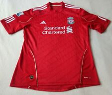 Vintage 2010 Liverpool Home Football Shirt - 9#Torres