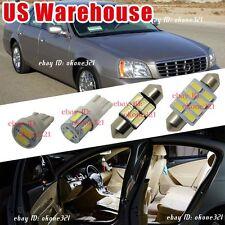 12-pc Super White LED Interior Light Package Kit For 2000-2005 Cadillac DeVille