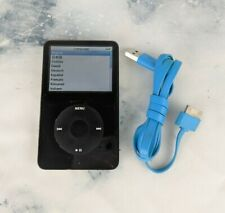Apple iPod Classic 5th Generation Black 30GB Charge / Data Cable Bundle TESTED