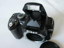 Nikon D D40x 10.2MP Digital-SLR DSLR Camera - Body only - BLACK