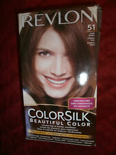 REVLON COLORSILK BEAUTIFUL COLOR 51 LIGHT BROWN LEAVES HAIR IN BETTER CONDITION