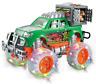 Dinosaurier Hauler Monster Truck mit Käfig, Licht & Musik Jura Offroad Toy Auto