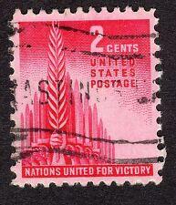 1943 Stati Uniti 2c nazioni alleate SG 904 BELLE USATO R21258